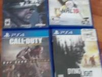 I have ps4 games for sale if interested text me