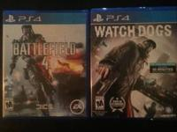 Watchdogs ........40 battlefield 4.......35   Both like