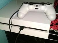 I am selling my white Sony PS4 500 Gig and my 39""