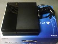 Selling my PS4, comes with box controller cords ect