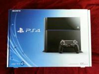 I'm selling a Playstation 4 that was purchased from