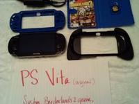 PS Vita game system-barely made use of, excellnt