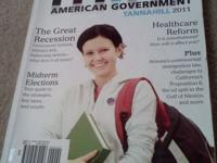 Think American Government 2011 book used at the Milton