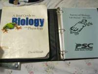 I'm selling my book A Brief Guide to Biology with