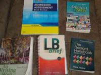 I have A&P I & 2 binder books like new, no writing.
