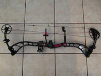 2013 PSE BOW MADDNESS 3G SKULL WORKS CAMO FINISH DRAW