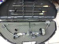 PSE Deer Hunter Bow includes: 3 carbon heads 3 broad