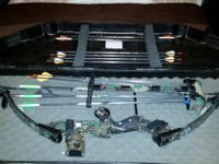 I am selling my pse dominator compound bow. It comes