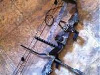 Like new bow right handed new string,peep,sights last