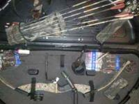 My husband has a pse nova compound bow for sale..only