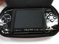 PSP Black Hand Held Game with Charger & Memory Stick
