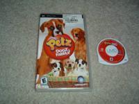 $10 - Petz - Dogs Family - includes the video game,