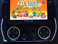 Psp go unlocked and loaded with over 5,000 games from