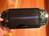 Brand brand-new PSP Vita. Has a touch screen, two