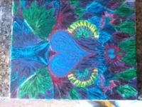 Psychedelic painting, 8-10 inches. I may not often