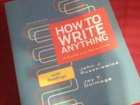 Ways to Write Anything - ENG 101 - John J. Rusziewicz
