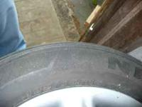 I have a set of 4 steel wheels, hubcaps and tires that