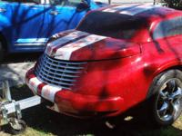 Selling my PT Trailer. Looks like the real PT Cruiser.