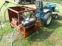 I am listing my pressure washer. It is 3 point hitch,
