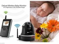 PTZ Night Vision 300 Meter Range Wireless Baby Monitor