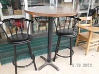 bar stools are gone Pub table by itself is 15.00 text