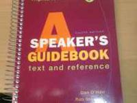 I used this book for the summer class, great condition.