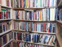 We have a huge variety of books.  Paperback, tough