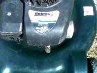 i have bolens lawn mower for sale 22'' 5,00 hp runs