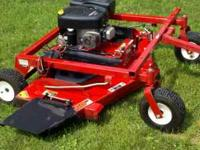 Swisher Pull Behind Finishing Mower 13.5 Hp Motor 60""