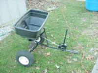 HANDY LAWN seeder or spreader that you pull behind your