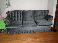 Pull out queen size sofa bed. Good condition. $150.