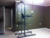 Pull up chin up leg raise and dip home gym, brand new