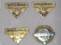 Pullman employee service award pin badge Pullman was a