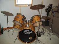 Pulse drum set asking price $850 or best offer. The set