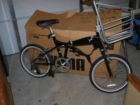 This bike is new out of the box never been rode. The