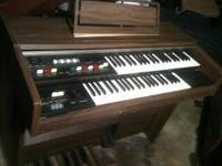 This small and unusual organ is an original 1940's