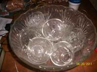 Nice punch bowl. $10. Call or text  Location: Lakeland