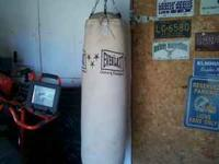 have a big everlast punching bag in good shape for