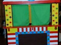 Puppet theater in great condition. Can be bought new