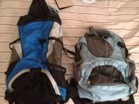 We have two Pureland Backpacks for sell. They are ideal