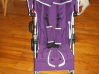 I bought this purple Deluxe Lightweight Stroller at FAO