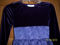 Rare Editions beautiful lilac/plum colored holiday