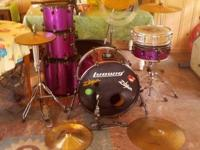 I'm selling my drum kit as I'm moving everything to
