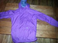 Purple lady's large Sims snowboarding jacket. 6