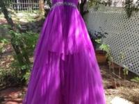 Brand new gown which retails for $300, size 0 and still