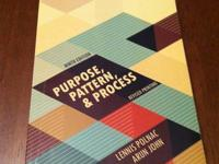 I have the Purpose pattern & process 9th edition for