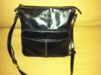 Beautiful black purse for a professional look. Call R @