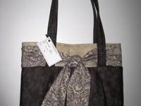 """Purse ~ Hand Crafted Hand Crafted Purse Measures 15"""" at"""