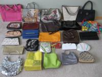 PURSES, WOMENS, ASSORTED, TWENTY-SEVEN (27) - $180.00