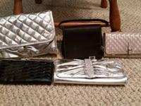 Various handbags/purses/clutches, available to purchase